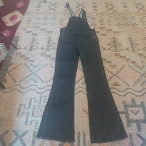 Madewell Flared Overalls